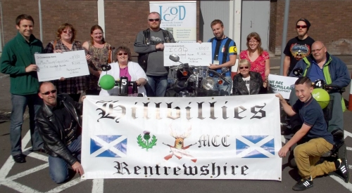 Hillbillies MCC Greenock Fund Raising